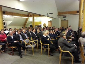 Bilde av deler av forsamling 09012014